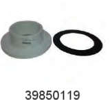 WAIKATO 39850119 FLANGE-150MM PVC AND GASKET