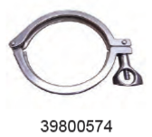 WAIKATO 39800574 CLAMP-HINGED HEAVY DUTY 101MM