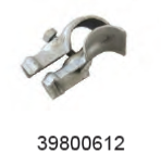 WAIKATO 39800612 CLAMP-GALVANISED A 40MM X 25MM