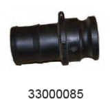 WAIKATO 33000085 CAMLOCK-63MM MALE ADAPT/HOSE TAIL
