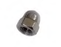FULLWOOD 001118 M6 STAINLESS STEEL DOMED NUT FOR CLAW BOWL