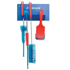 Delaval 98880100 Brush board + set of 4 brushes, red 98880100