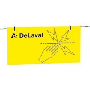 DELAVAL 85488701 WARNING SIGN Q:4 (FF)