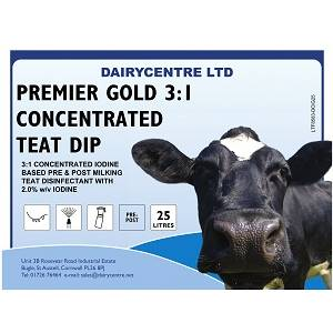 200 LITRE DAIRYCENTRE GOLD 3:1 CONCENTRATE