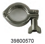 WAIKATO 39800570 CLAMP-HINGED HEAVY DUTY 38MM